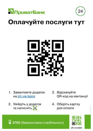 Платежі по QR-коду